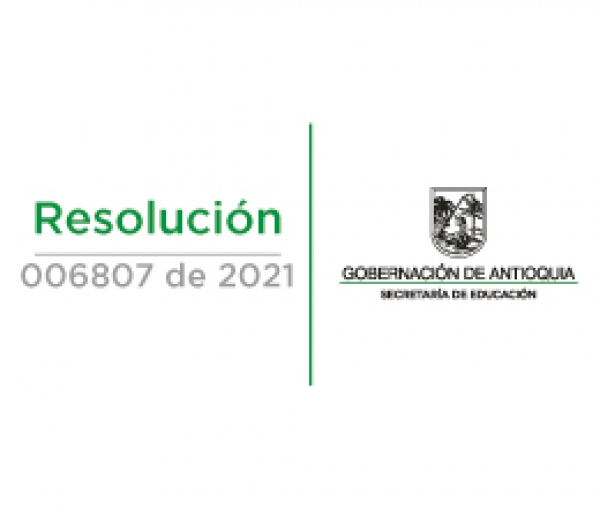 Resolución 006807 de 2021